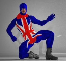 Union Jack 2nd skin textures for M4 by hiram67