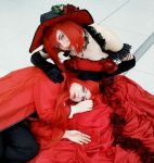 Grell and Madame Red by FuriaeTheGoddess