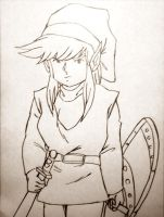 Classic Link Line-art by CpointSpoint