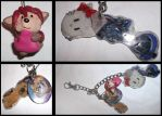 B-Day Gift: Keychain of Stuff by Lolly-pop-girl732