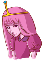 Princess Bubblegum by nor-renee
