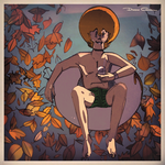 Sitting on a Rubber Ring in a Swamp Full of Leaves by UomoBlooper