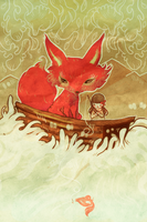 Fox Boat by flyk