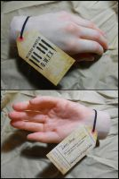 Hand Prosthetics by Meaghan-Monster