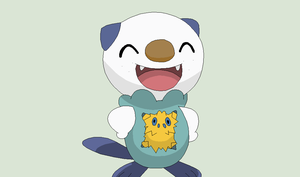 Pokemon Base 122~Oshawott and Joltik 1~ by Xbox-DS-Gameboy
