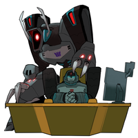 Longarm and Shockwave by amtkrs