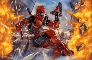 Deadpool 2 by VinRoc