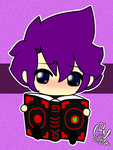 RC9GN.- Chibi Randy and Nomi by yusunaby