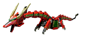 2016 Legacy Red Dragon Thunderzord by ryanthescooterguy