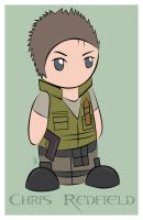 Resident Evil - Chris Redfield by godii-yomahomi