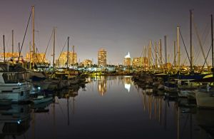 Long Beach Harbor by yo13dawg