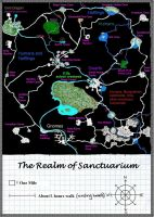 Realm of Sanctuarium Map by Mistgod