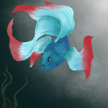 Just a Fish by IridiumCyanide