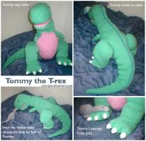 Tommy the T-rex by Morrgan