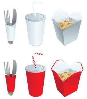 Fast Food Elements by StooStock
