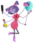 Birthday Muffet by Ravyn-Karasu