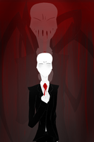 The Slender Man by astrequin
