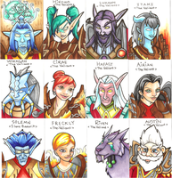 Blizzcon 2011 Badge Project by ladyriven