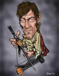 Daryl Dixon by CaricaturEd
