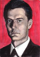 Agent Dale Cooper by Sp00kySqueek