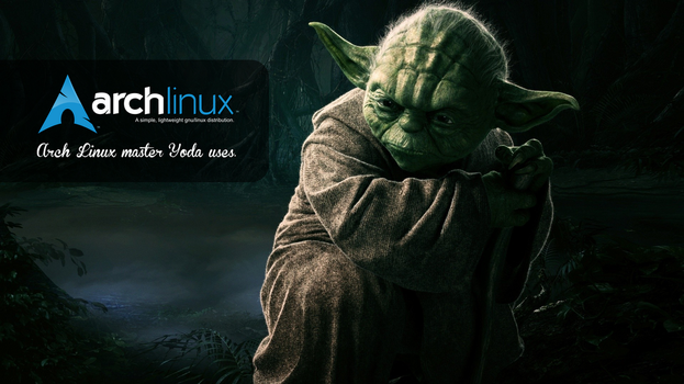 Master Yoda Arch Linux uses by sistematico