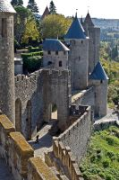 La Cite de Carcassonne by Jaded-Paladin