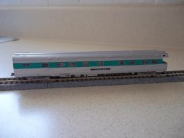 Observation Car for my PennCentral passenger train by Starfox2o12