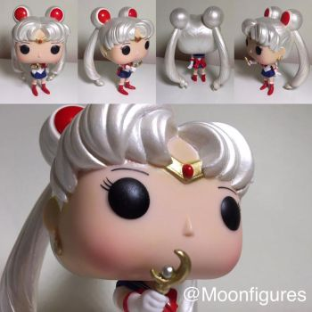 Custom Sailor Moon Funko Pop by PaulineFrench