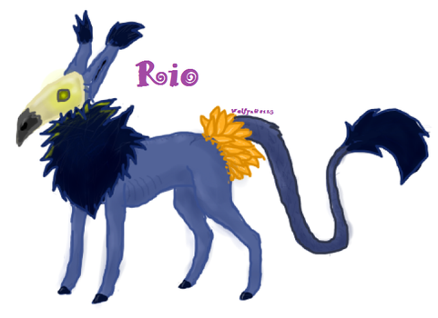 Rio by WolfPaws123