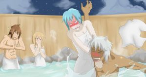 Hot Spring Troubles by LS-Leon