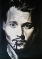Johnny Depp by ScribbleKitten