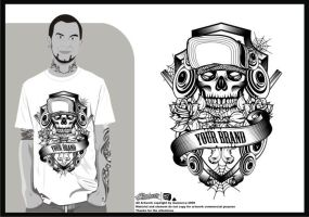 design for sale  Urban skull by inumocca