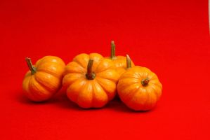 Small Pumpkins Stock by azieser