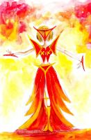 GaGa on fire by the-other-kevin