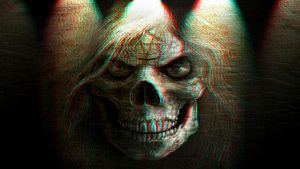 Wicked Skull 3-D conversion by MVRamsey