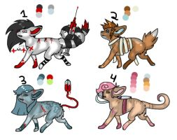 Disease Adopts (Offer to Adopt) by WolvesDestinyBlood