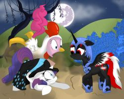 RariPie Nightmare Night Contest by KeyoshiStorm