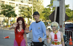 Amazing spock at fanexpo by TheDerpQueen
