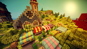 Village! by MinecraftParadise