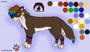 Canine Design - contest entry (adopted) by M-WingedLioness