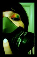 Gas mask. by The-Horrorpunk