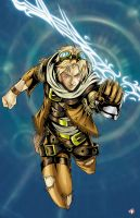 Ezreal-League of Legends by WiL-Woods