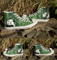 Panda Shoes by SqueakyE