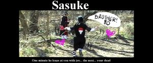Sasuke Is Totally Ninja by BakaNinjaProductions