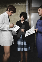 Ringo Starr with Fans 1963 by koolkitty9