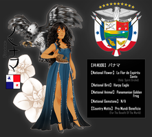 .:APH:. National Symbols Sheet | Panama by kamillyanna