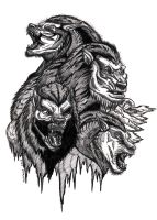 Lycans by AnsticeWolf
