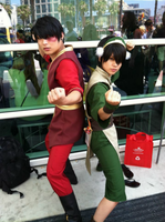 zuko and toph by ohjimmyboy