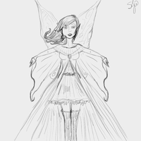 Fairy Sketch by Stepherbell