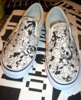 Wurd Up Shoes by Lame-O-Kid
